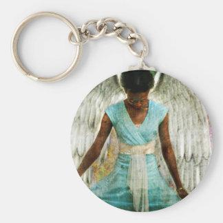 Angelic Thanks Key Chain