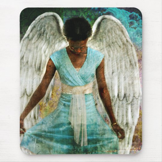 Angelic Thanks Mouse Mat