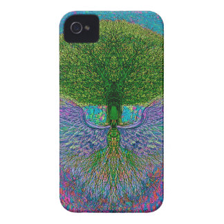 Angelic Tree of Life iPhone 4 Case-Mate Cases