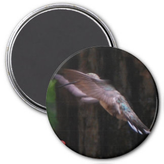 Angelic Wings 7.5 Cm Round Magnet