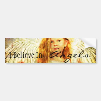 Angelic Wonder Bumper Sticker