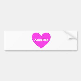 Angelica Bumper Sticker