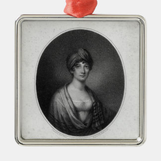 Angelica Catalani, engraved by Antoine Cardon Christmas Ornament