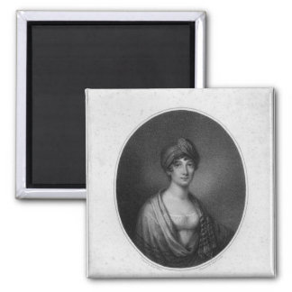 Angelica Catalani, engraved by Antoine Cardon Magnet