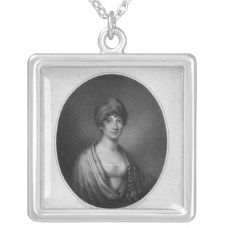 Angelica Catalani, engraved by Antoine Cardon Silver Plated Necklace