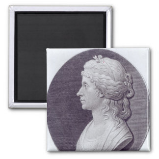 Angelica Kauffman, engraved by J.F Bause Magnet
