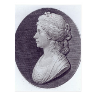 Angelica Kauffman, engraved by J.F Bause Postcard
