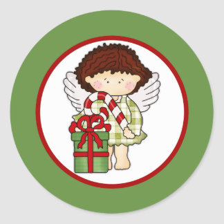 Angelica Loves Christmas Candy Holiday Sticker 2