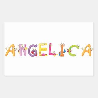 Angelica Sticker