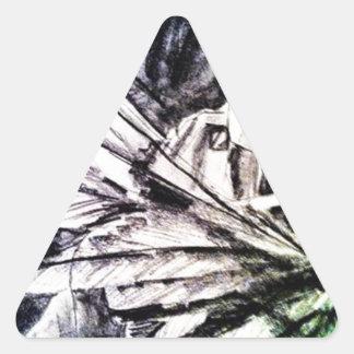 Angelica Triangle Sticker