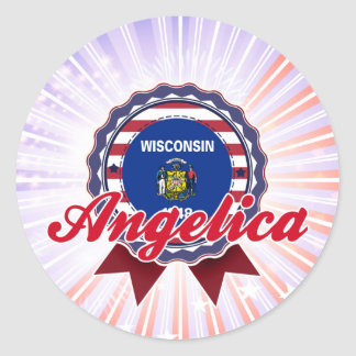 Angelica, WI Stickers