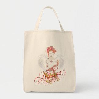 Angelina Grocery Tote Bag