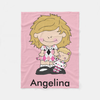 Angelina's Personalized Blanket