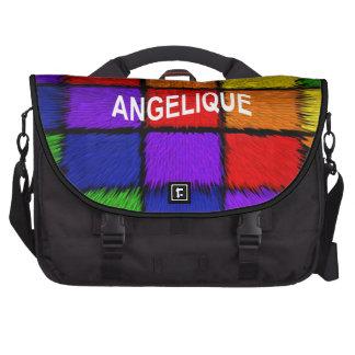 ANGELIQUE ( female names ) Laptop Computer Bag