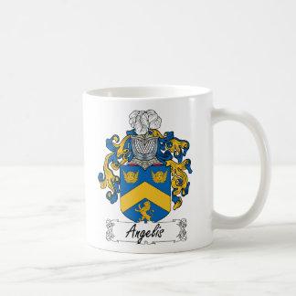 Angelis Family Crest Mugs