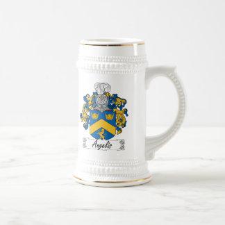 Angelis Family Crest Coffee Mug