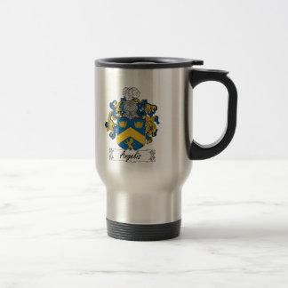 Angelis Family Crest Mug