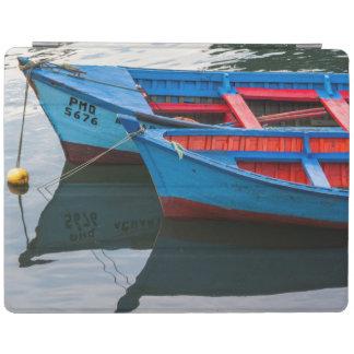Angelmo harbor, fishing boats. iPad cover