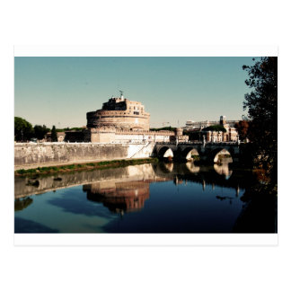 Angelo Castle Rome Postcard