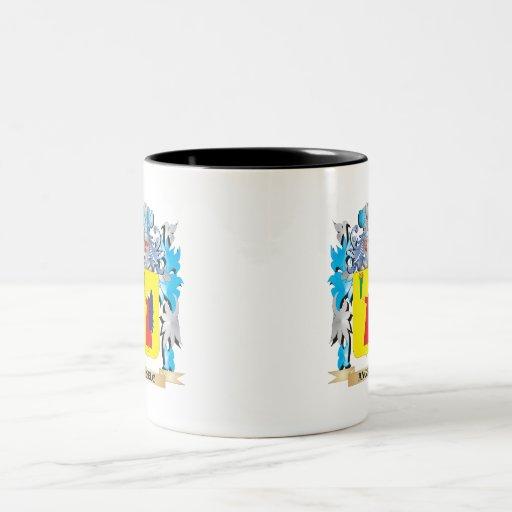 Angelo Coat Of Arms Coffee Mugs
