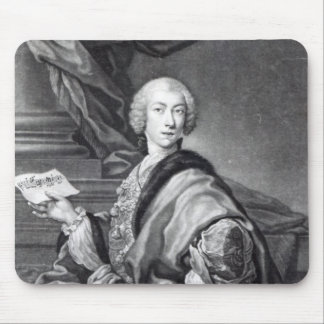 Angelo Maria Monticelli, engraved by John Faber Mouse Pad