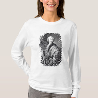 Angelo Maria Monticelli, engraved by John Faber T-Shirt