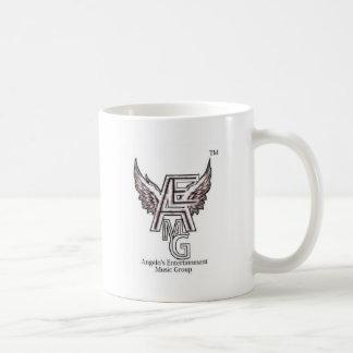 Angelo's Entertainment  Music Group product Basic White Mug