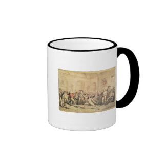 Angelo's Fencing Room, pub. 1787 Ringer Mug