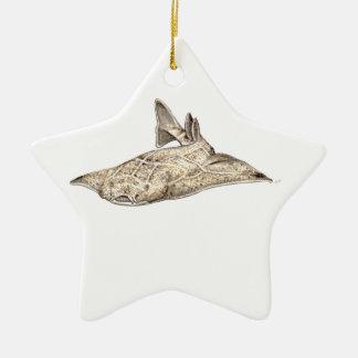 Angelote, shark angel christmas ornament