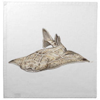 Angelote, shark angel napkin