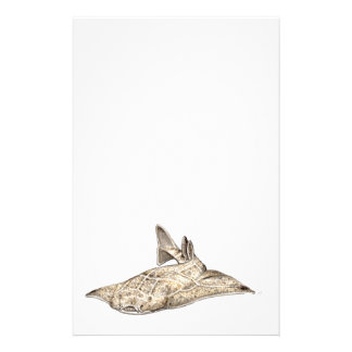 Angelote, shark angel stationery