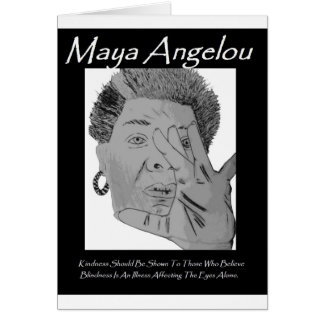 Angelou Quote Greetings Greeting Card