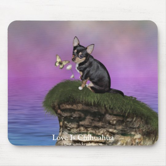 AngelPearlGirl Chihuahua 3A Mouse Mat