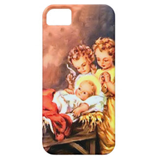 Angels and baby Jesus iPhone 5 Case