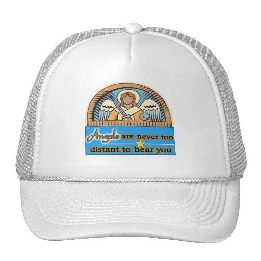 ANGELS ARE NEVER TOO FAR MESH HATS