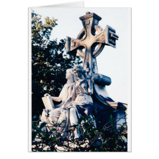 Angels at Oakland Cemetery Card