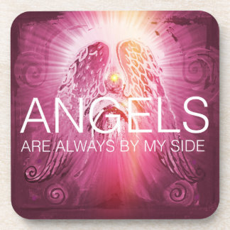 Angels by my side Coaster
