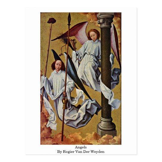 Angels By Rogier Van Der Weyden Postcard