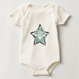 Angels cheerleaders baby bodysuit