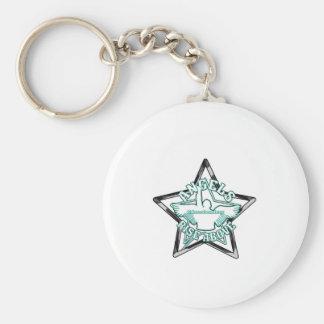 Angels cheerleaders key ring