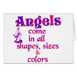 Angels Come In All Shapes, Sizes & Colours
