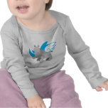 Angels come in all sizes RHINO Tshirt