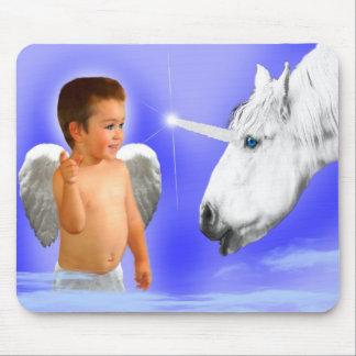 ANGELS DREAMS THAT WAY    MYSTICAL UNICORN MOUSE PAD