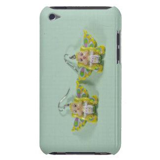 Angels earrings iPod touch case