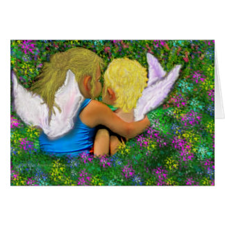 Angels Everywhere! Greeting Card