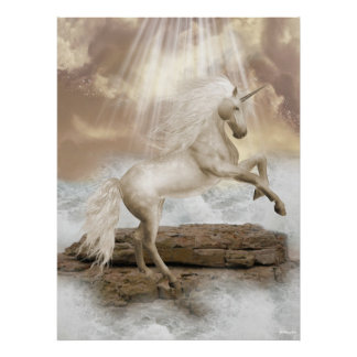 Angels Fae Unicorns Print