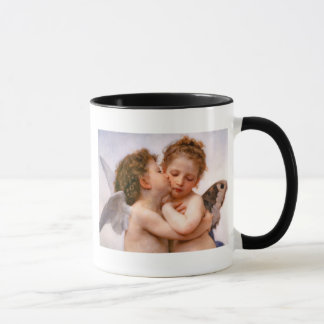 Angels First Kiss, Bouguereau Fine Art Mug