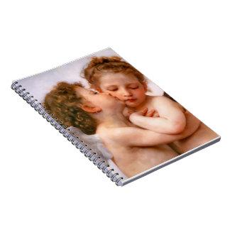 Angels First Kiss, Bouguereau Notebooks
