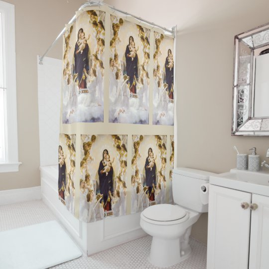 Angels From the Realm of Glory Shower Curtain
