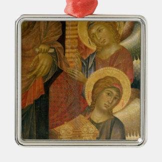 Angels from the Santa Trinita Altarpiece Christmas Ornament